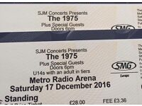 2 Standing tickets for The 1975 concert