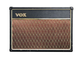 Mid-2000s Vox AC15 CC1X with 1x12 Alnico Blue Speaker, Footswitch and Case in Manchester UK