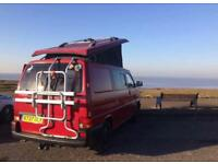 VW T4 Camper van with pop-top