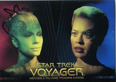Star Trek Voyager Heroes And Villains Promo Card P1
