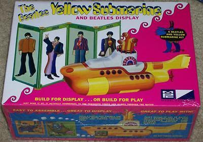 MPC Beatles Yellow Submarine model kit 1/25