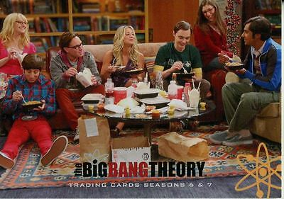 Big Bang Theory Seasons 6 & 7 Complete 72 Card Base Set