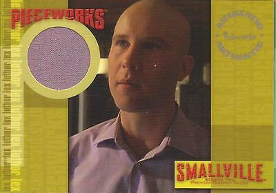 SMALLVILLE - SEASON 2 - MICHAEL ROSENBAUM AS LEX LUTHOR WARDROBE CARD - PW8