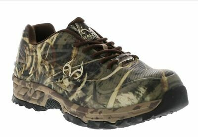 Realtree Outfitters Size 12 W (4E) WIDE Mens Composite Toe Copperhead Camo -