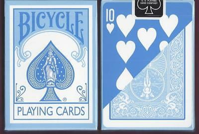 1 DECK Bicycle Fashion blue reverse-face playing cards