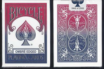1 DECK Bicycle Ombre playing cards  HOLIDAY SPECIAL + FREE SHIP!