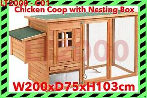 Chicken Coop with Nesting Box Rosewater Port Adelaide Area Preview
