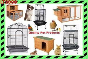 Rabbit Hutch, Chicken Coop, Dog Kennel, and Bird Cages Rosewater Port Adelaide Area Preview