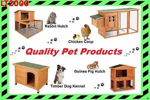 Rabbit Hutch, Guinea Pig hutch, Chicken Coop and Dog Kennel Rosewater Port Adelaide Area Preview