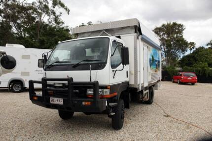 2001 MITSUBISHI CANTER 4 X 4 MOTORHOME Arundel Gold Coast City Preview