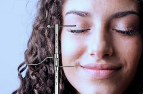 New Premium Grade Gauge High-quality Stainless Steel Dental VDO Gauge Ruler