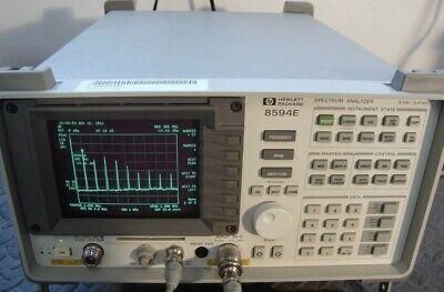 Hp 8594e Spectrum Analyzer 9khz-2.9ghz Options 004 010 Tg 101. Tested Excellent