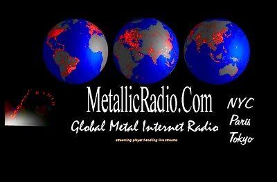 Internet Domain Metallicradio.com  Domain Only - Metallicradio.com