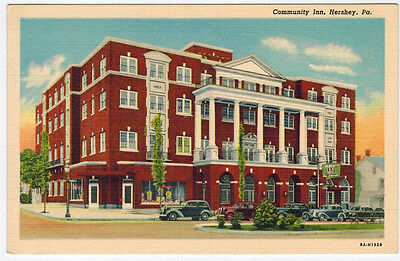 MINT Community Inn, Hershey PA, vintage cars, Drug Store Sign, (Hershey Pa Stores)