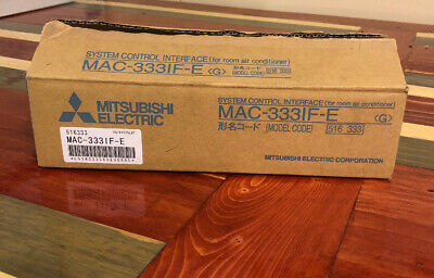 MITSUBISHI ELECTRIC MAC-333IF-E SYSTEM CONTROL INTERFACE ( ROOM AIR CONDITIONER)