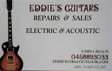 **GUITAR REPAIRS & SALES / WOY WOY** Woy Woy Gosford Area Preview