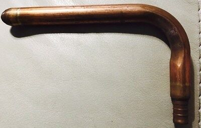 Qestpex Copper Stub Out Elbow For 12 Pex Tubing Size 12barb X 6