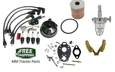 Complete Ignition Maintenance Tune Up Kit Ford 8n Tractor Side Distributor