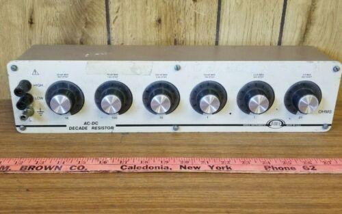 Biddle Instrument Decade Resistor 724330
