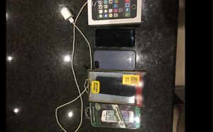 IPhone 5S 16GB Space Grey OR Gold/White with accessories