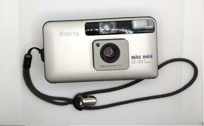 [Exc +3 DHL] Konica Big Mini BM-201 Point & Shoot Camera + Strap From JAPAN