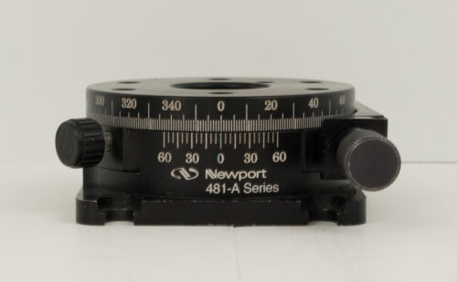 Newport 481-a Precision Rotational Stage 5 Degree with Micrometer