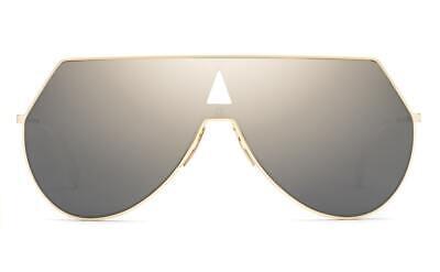 NEW FENDI EYESHINE SUNGLASSES FF 0193/S 0000J 99 ROSE GOLD GRAY MIRRORED (Fendi Eyeshine Sunglasses)