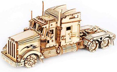 Robotime 3d Holz Puzzle Modellbausatz Holzfahrzeug Auto LKW Kinder Spielzeug