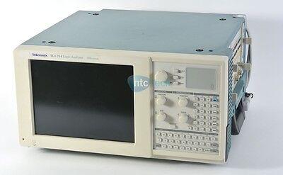 Tektronix Tla 714 Portable Logic Analyzer Mainframe W 2x Tla 7p2