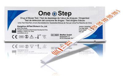 Drogentest Kokain, Schnelltest 10 Teststreifen Ultrasensitiv 100 ng/ml