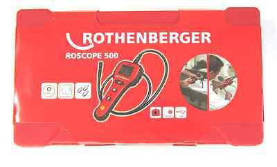 New Rothenberger Roscope 500 Digital Drain Inspection Camera Wcase