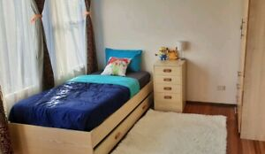 A large and nice private bedroom for rent