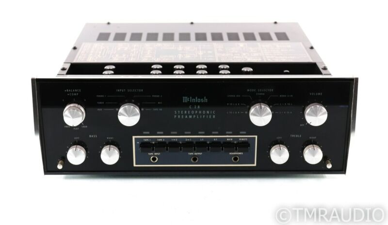 McIntosh C28 Vintage Stereo Preamplifier; C-28; MM Phono