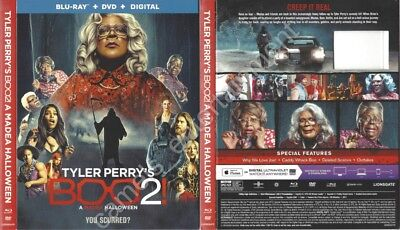 Tyler Perry's Boo 2! A Madea Halloween (Blu-ray SLIPCOVER ONLY * SLIPCOVER ONLY)