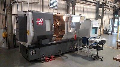 Haas St-30 Cnc Lathe New 2012