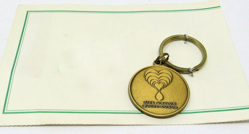 5 Gallon Blood Donor Key Chain United Blood Services AZ Registered