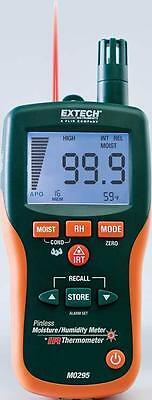 Extech Mo295 Pinless Moisture Psychrometer Ir Thermometer