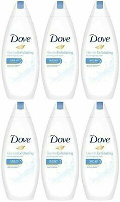 Dove Gentle Exfoliating Body Wash With Nutrium Moisture 16.9