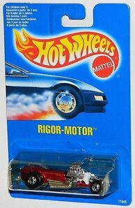 Hot Wheels 1/64 Rigor-Motor Black Walls Diecast Car