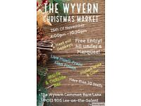 The Wyvern Christmas Market 25th November