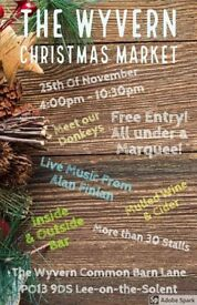 The Wyvern Xmas Market