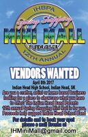 Indian Head Spring Shopping Mini Mall & Craft Sale April 8 2017