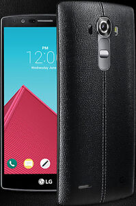 LG G4 with Silver Flip Case