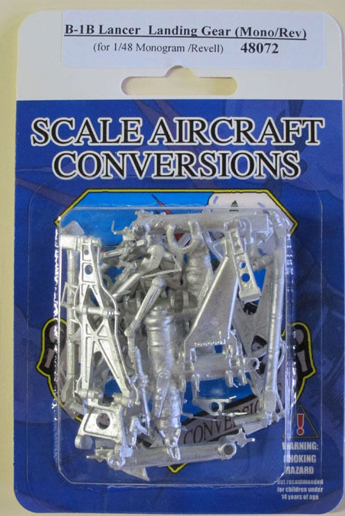 Monogram Model  SAC 48072 B-1B Lancer Landing Gear For 1//48th Scale Revell