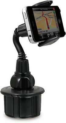 MACALLY mCUP CUP HOLDER CAR MOUNT ADJUSTABLE/UNIVERSAL FOR CELL PHONE iPHONE 5 6