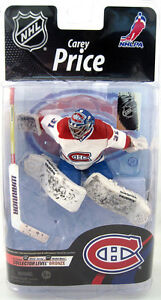 Autographed Carey Price Chase Variant White Mcfarlane #339/1500