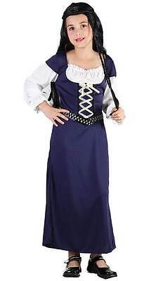 Maid Marion Groß ,( Robin Hood) Mädchen Kostüm, - Robin Mädchen Kinder Kostüm