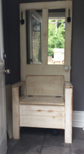 Unique Storage Bench - Perfect for Front Entrance Hall