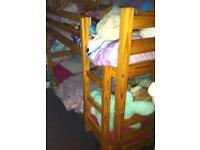 Pine bunkbeds