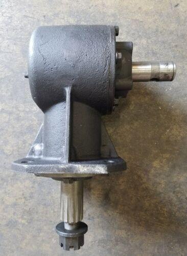 40hp Shear Bolt Rotary Cutter Gearbox, 12 Spline Output Shaft